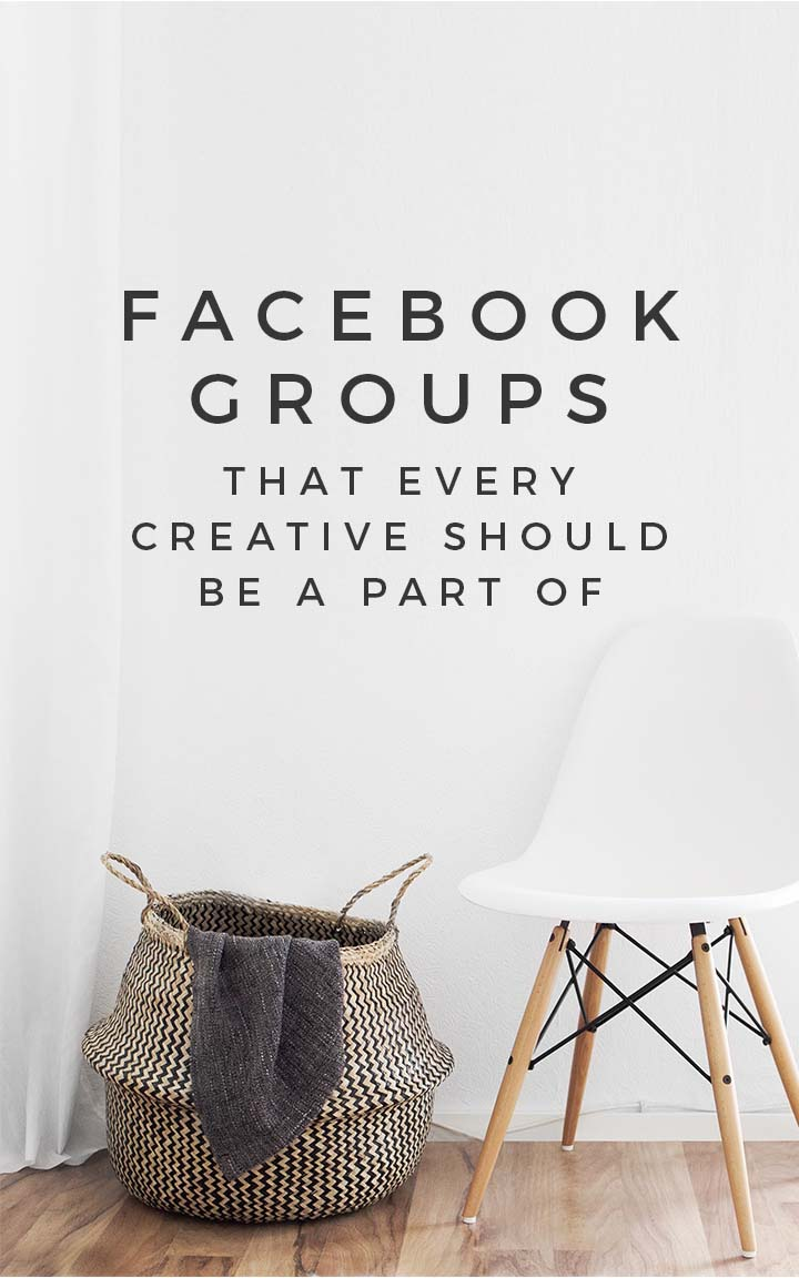 Facebook groups that every creative should be a part of