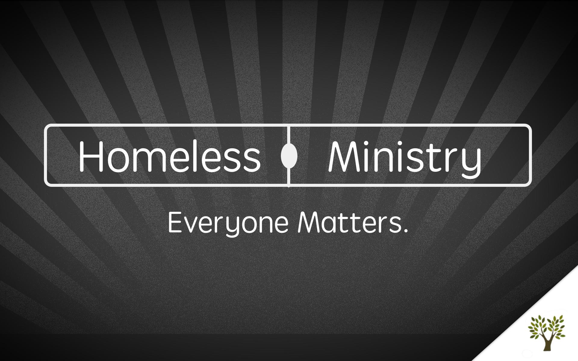 Homeless Ministry - Coat Drive - 2013