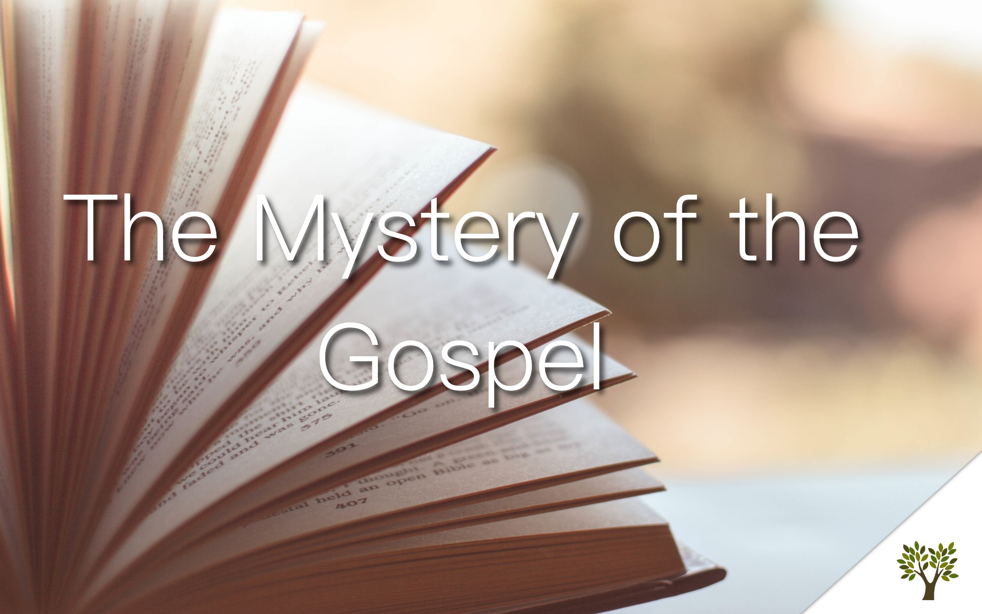 The Mystery of the Gospel  Nick Hughes
