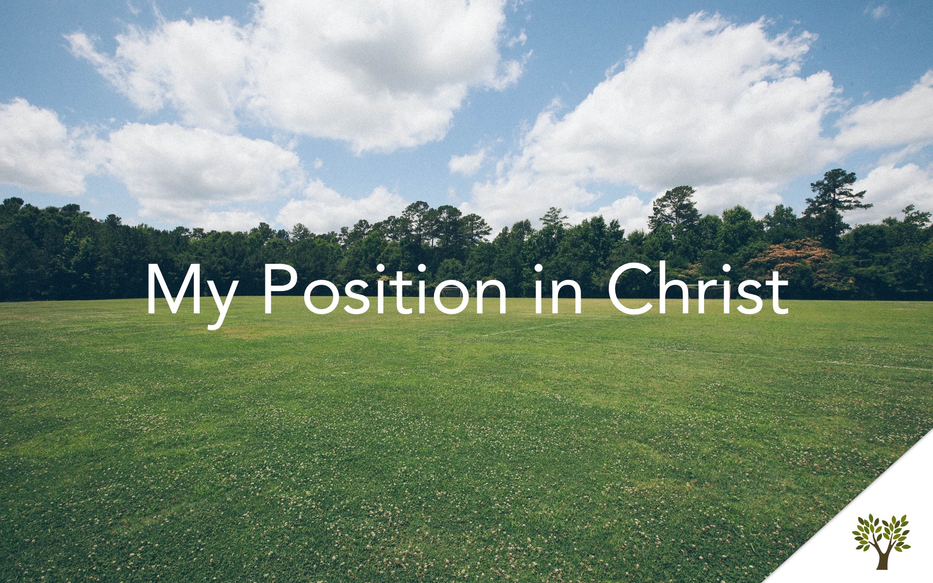 My Position in Christ  Gerald Young