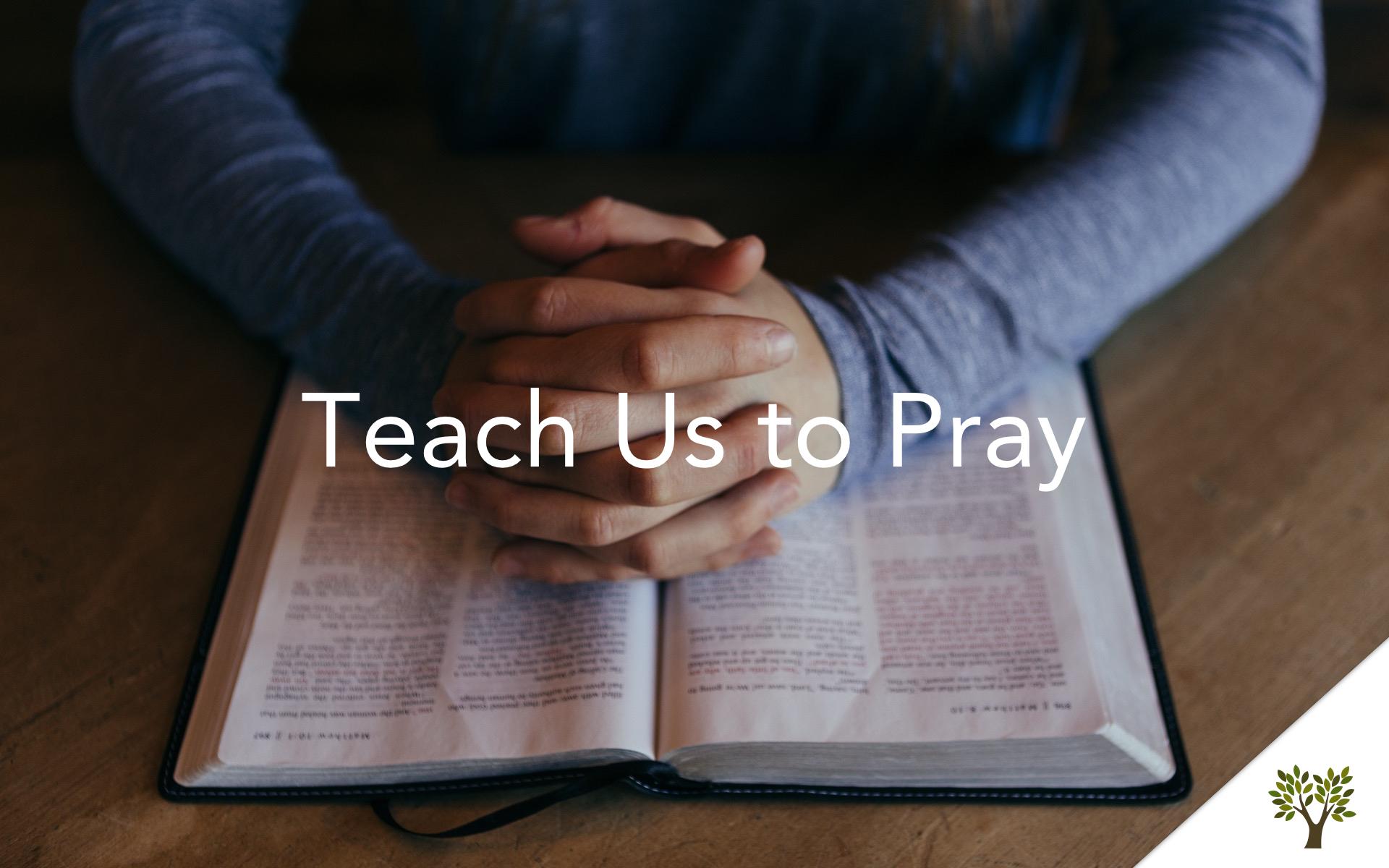 Teach Us to Pray  Terry Fant