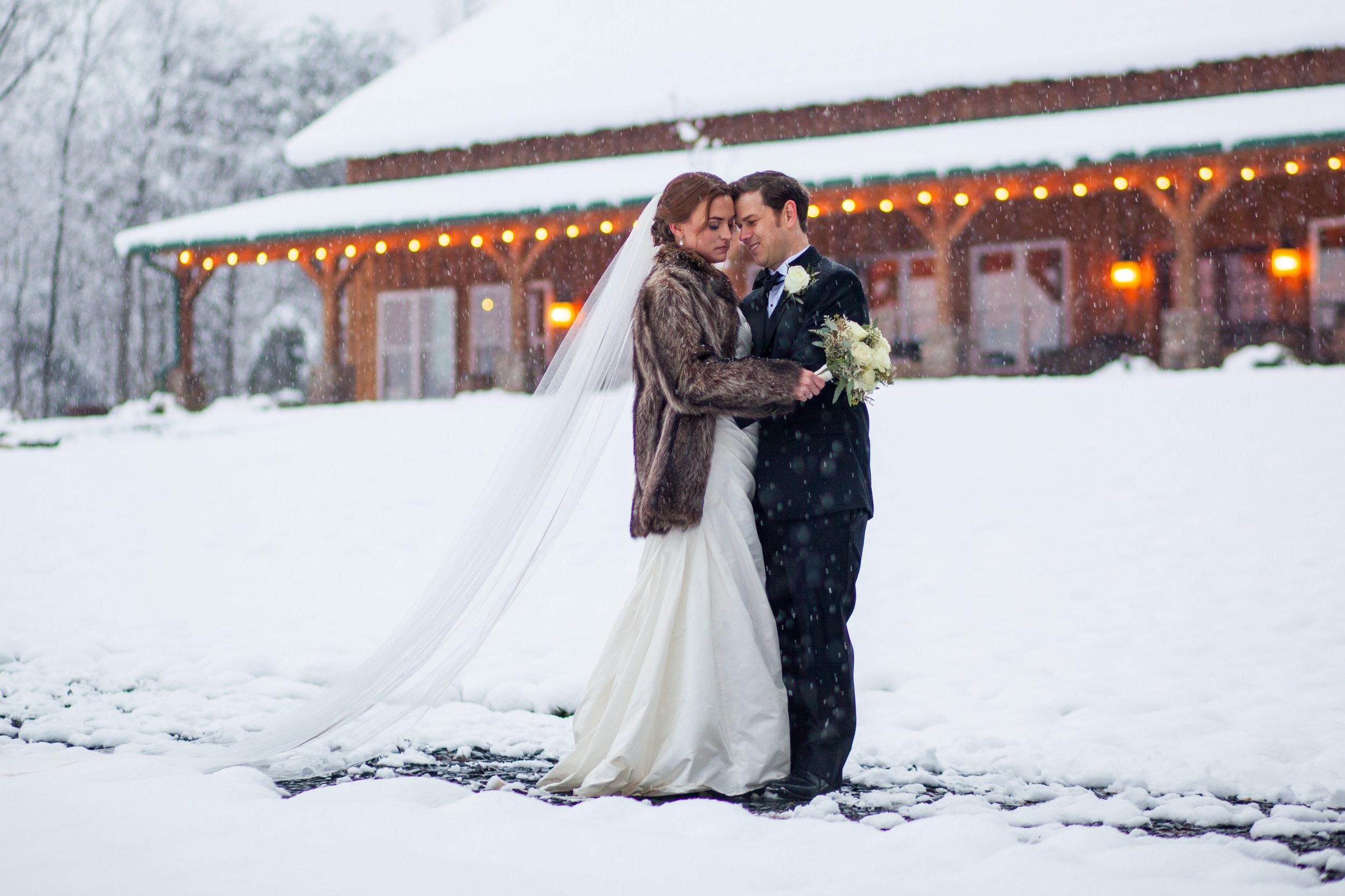 Snowy Winter Wedding -