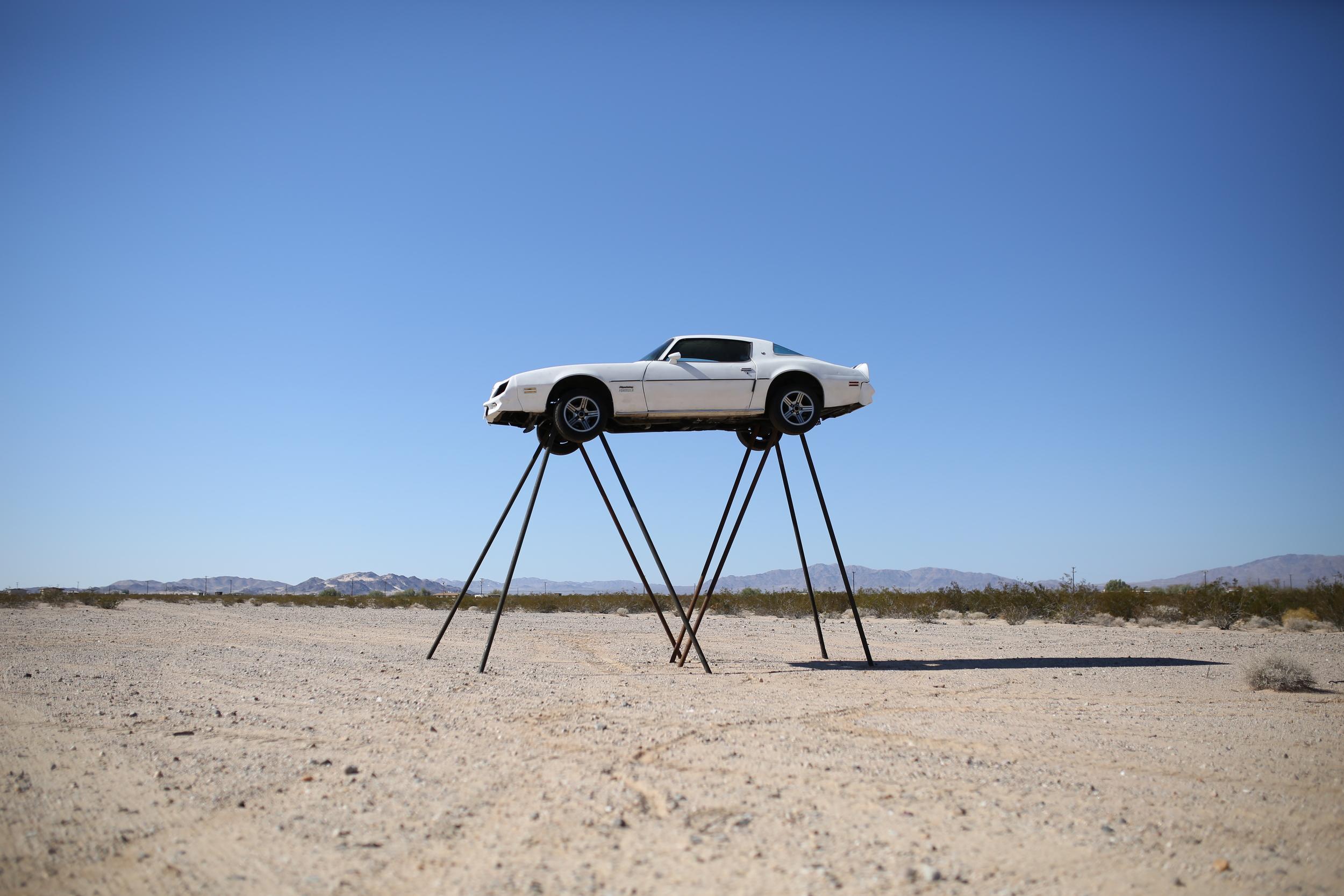 JESSE SUGARMANN    Talks Making Art with Cars