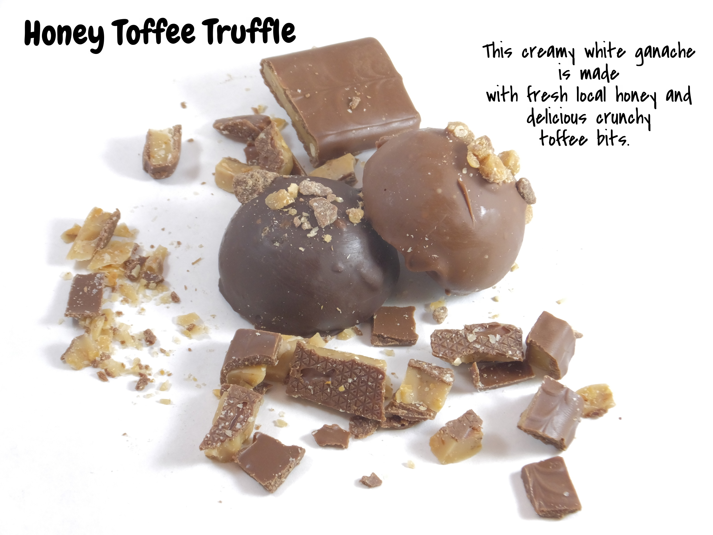 Honey Toffee Truffle