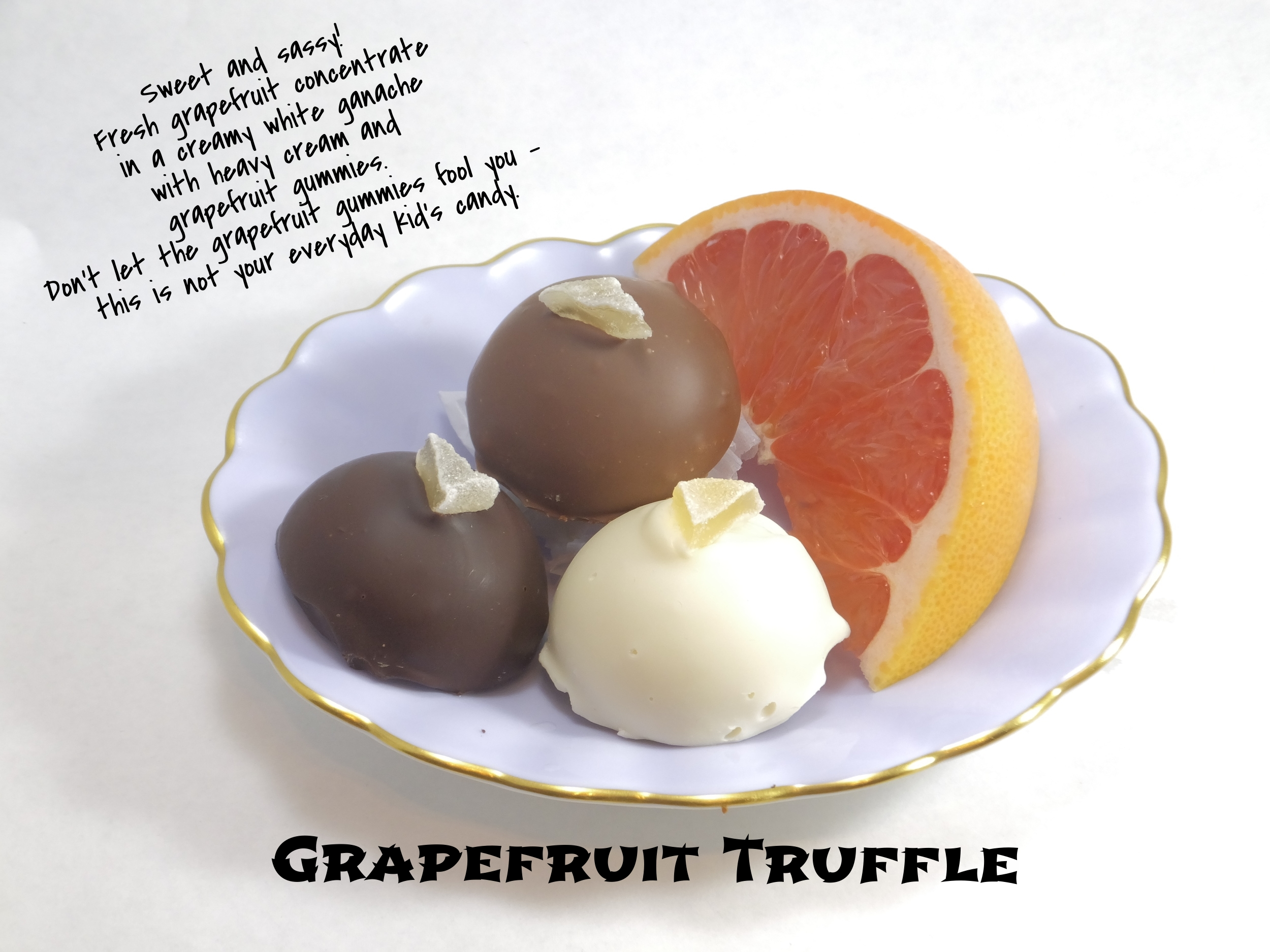 Grapefruit Truffle