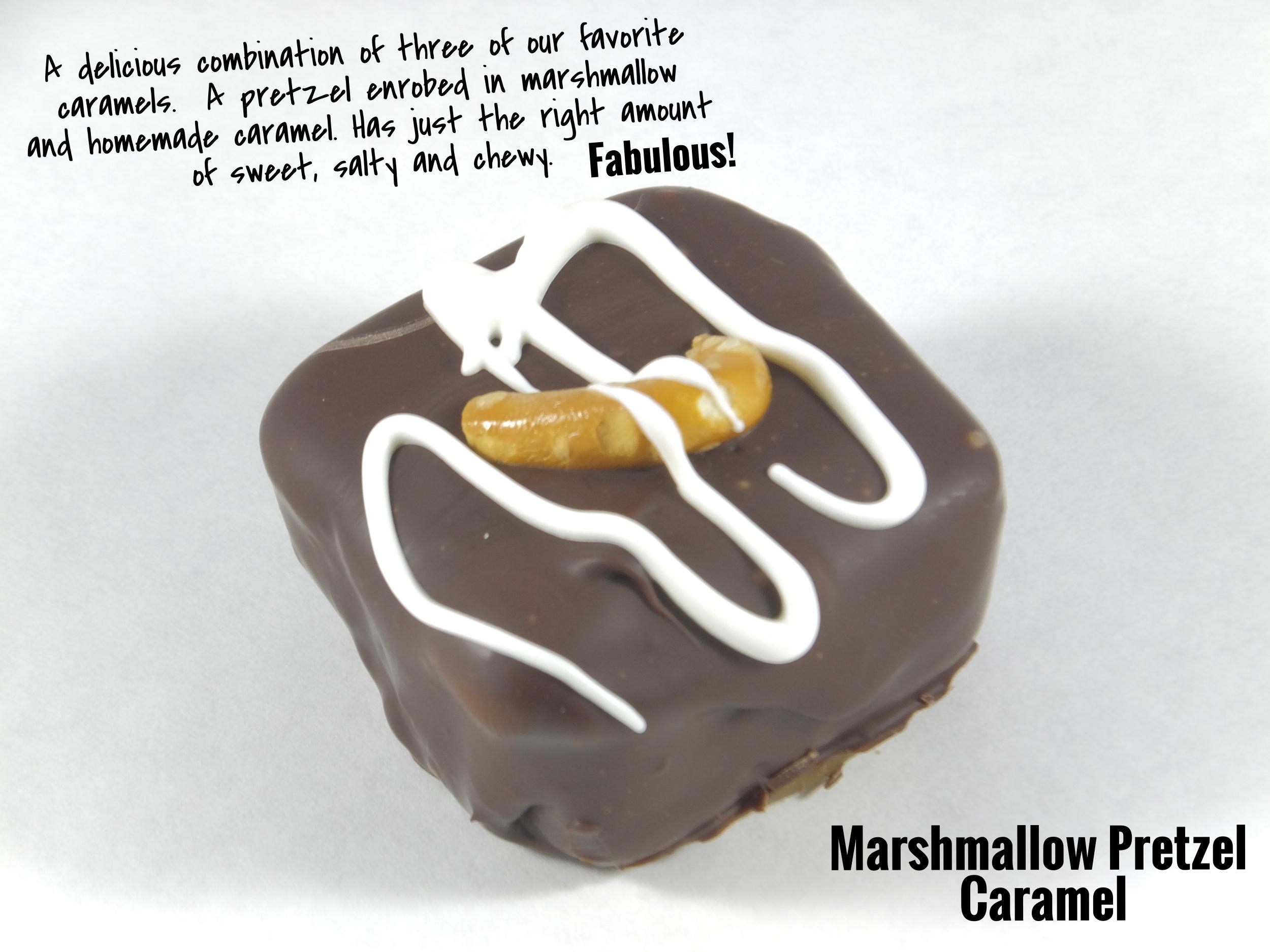 Pretzel Marshmallow Caramel
