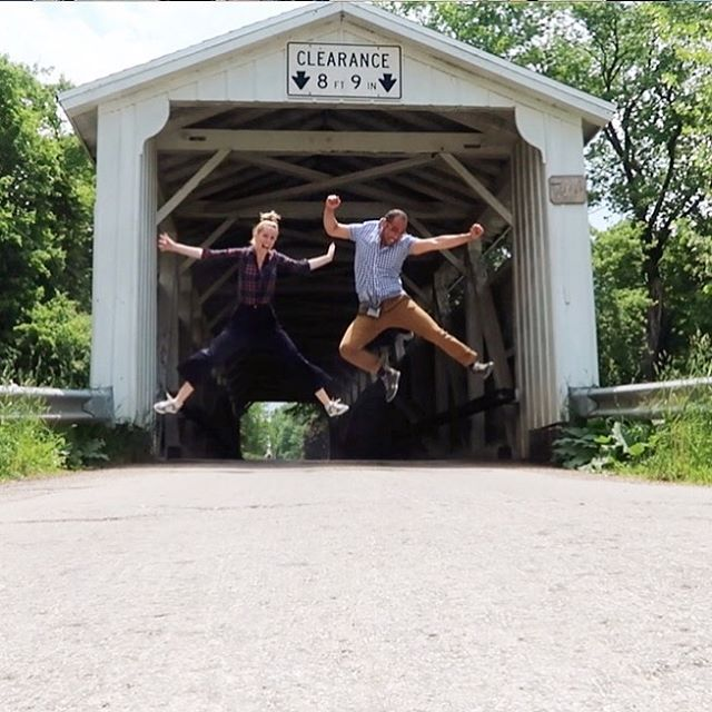 Meanwhile in Pennsylvania.. #coveredbridge #amishcountry #lifewithwifey