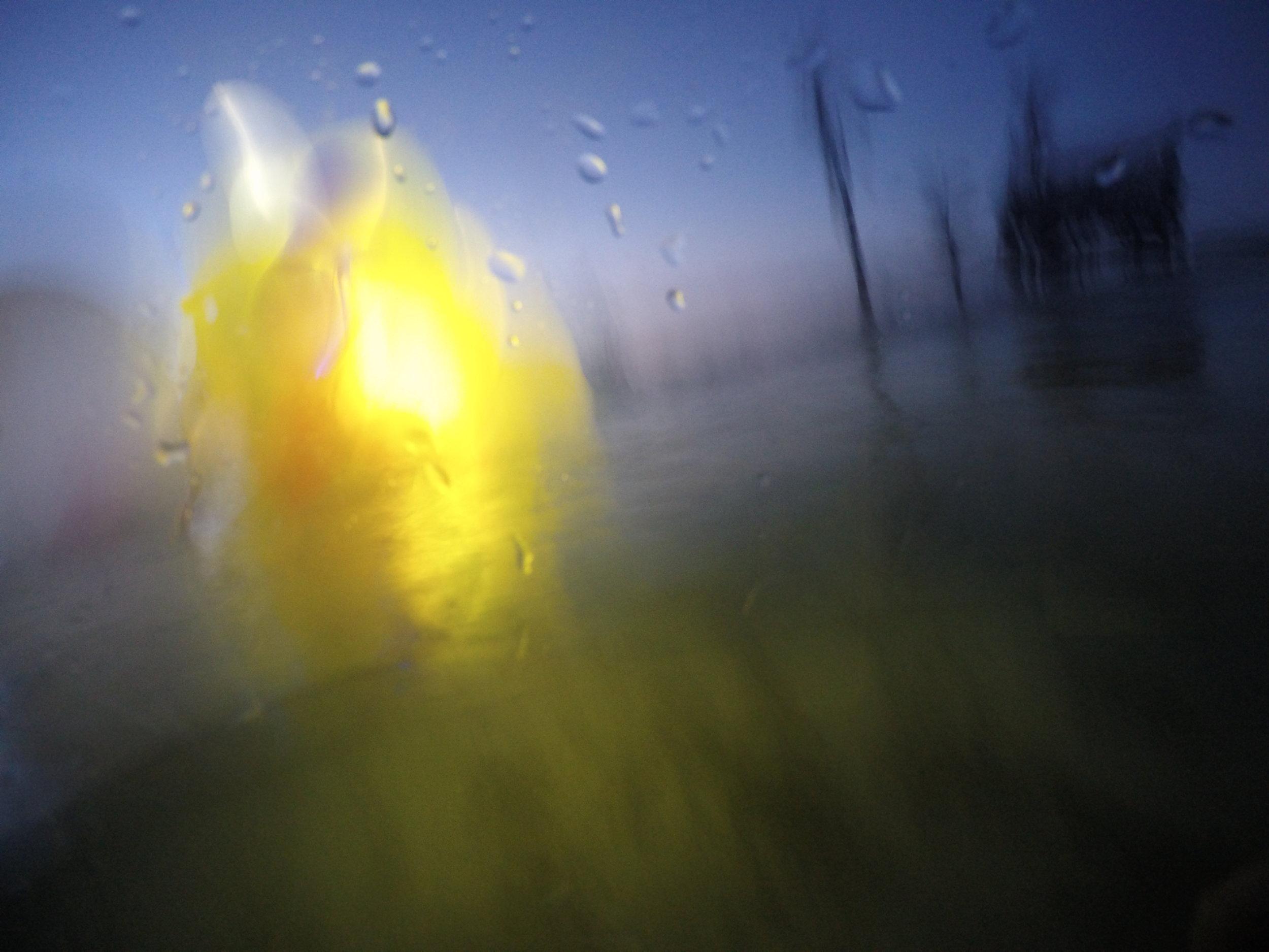aqua light sculpture, Panama