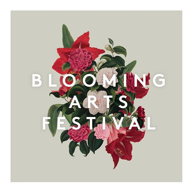 One week til the 6th Annual Blooming Arts Festival! If you live in the hood, stop by next Saturday and support the artists in our community. Love this little logo I made for the event.  #graphicdesign #logodesign #inwood #nyc #designer #freelance