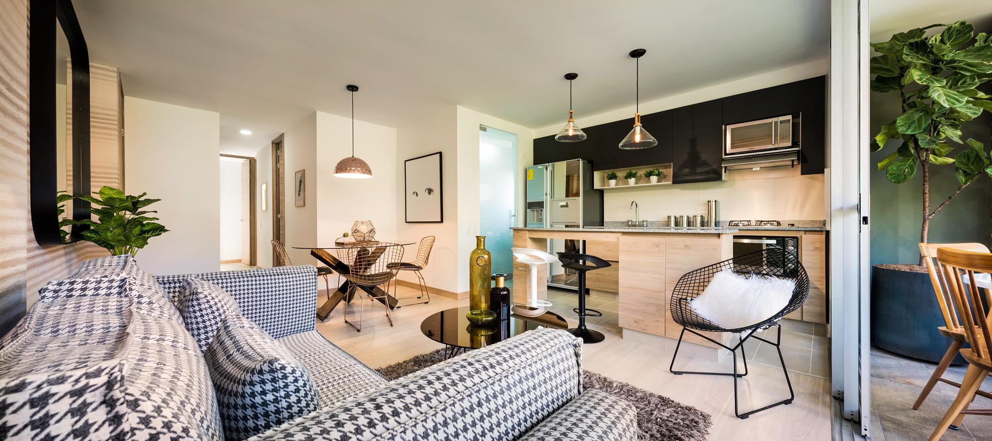Portafolio de fotografía de apartamentos y casas modelo -