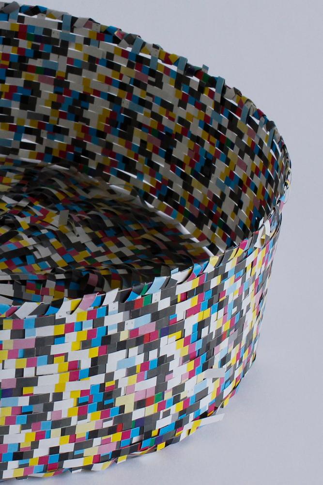 Untitled (Round Basket)