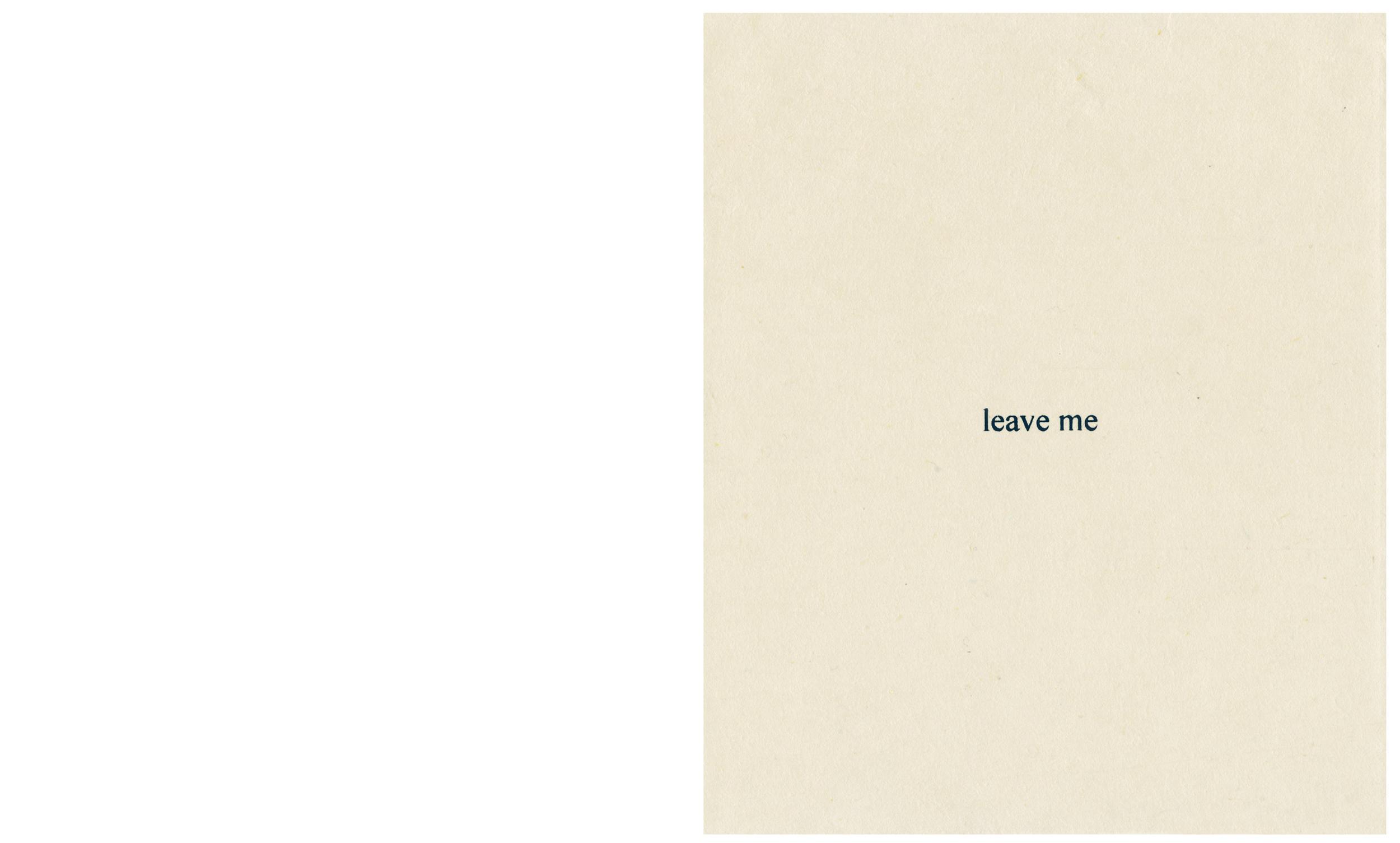 Take Me / Leave Me