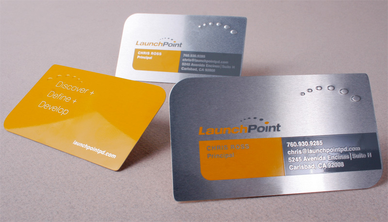 Launchpoint business card design