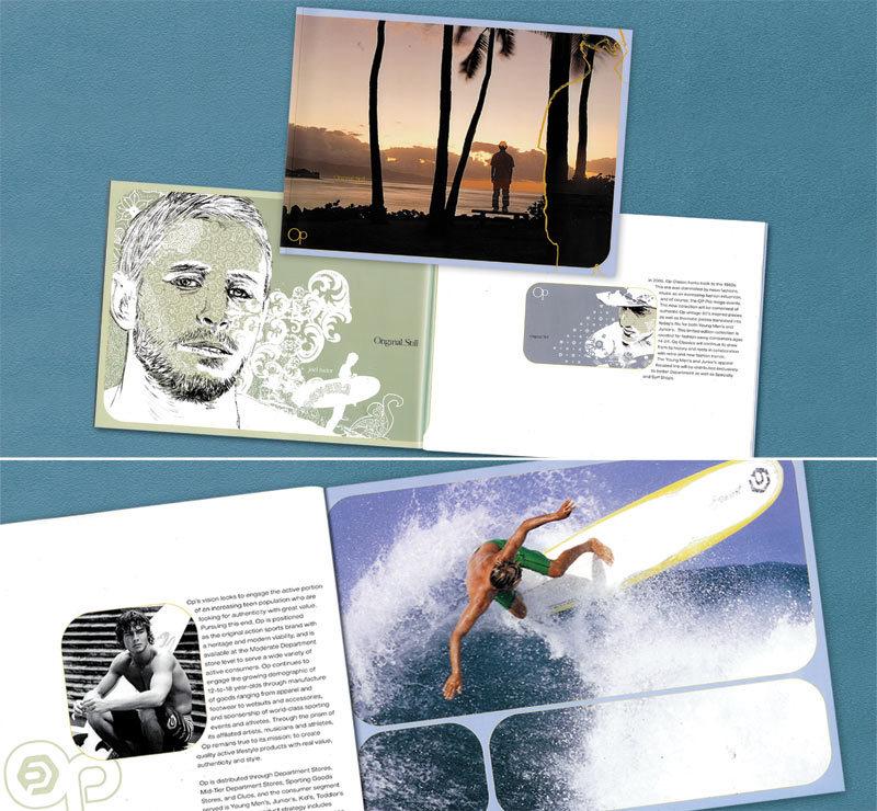 Ocean Pacific brochure design