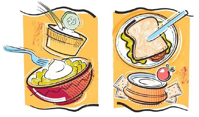 Custom illustration for package design