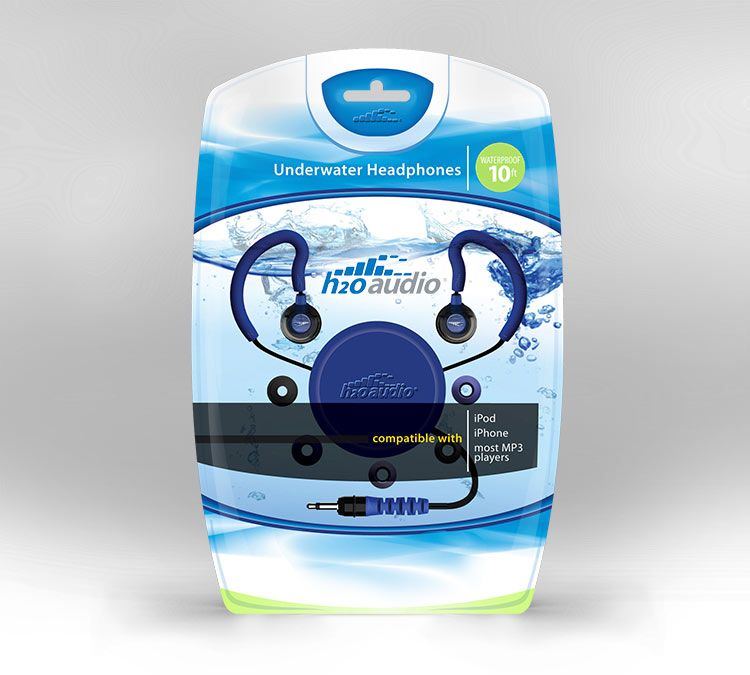 H2Audio clam shell package design