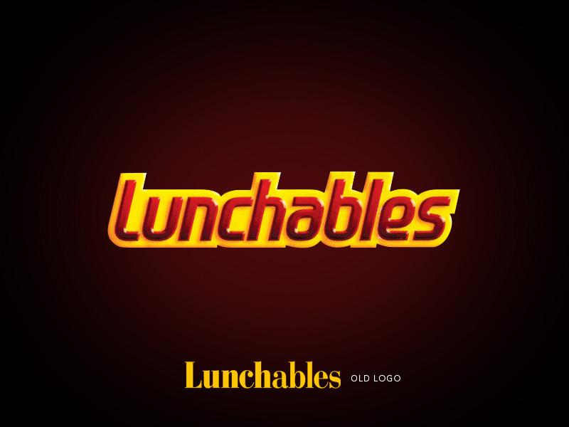 Lunchables brand children's lunch logo design.