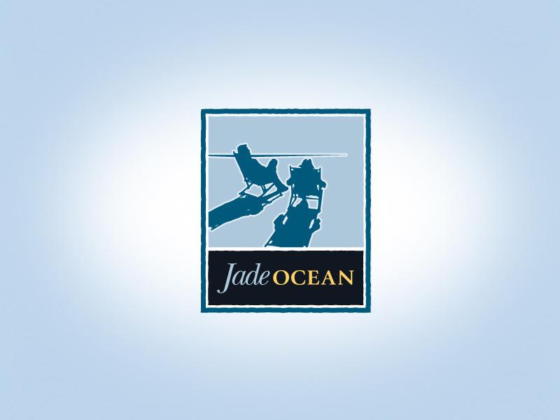 Jade Ocean Baja California resort and spa logo design.