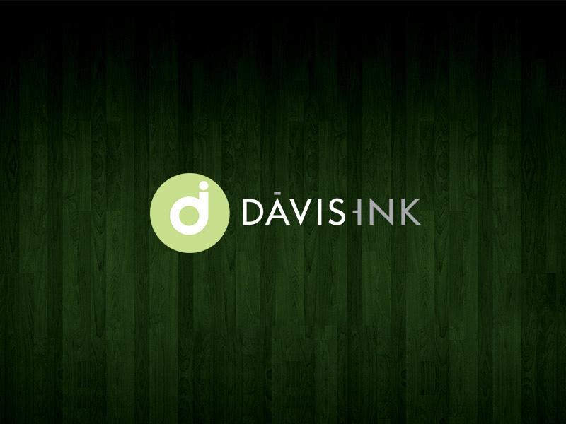 Davis Ink interior design logo design.