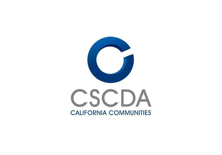 CSCDA real estate logo design.