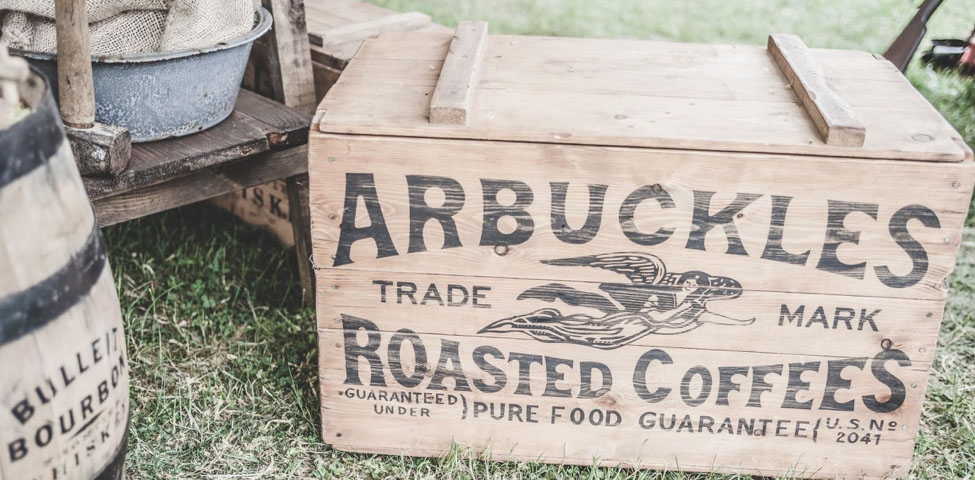 Photo credit: https://www.pexels.com/photo/arbuckles-roasted-coffees-175747
