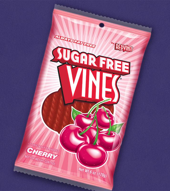 Copy of Red Vines modern food bag design