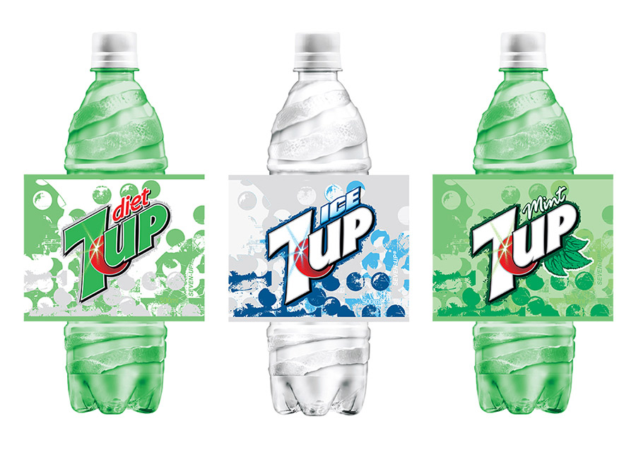 7UP European concept designs