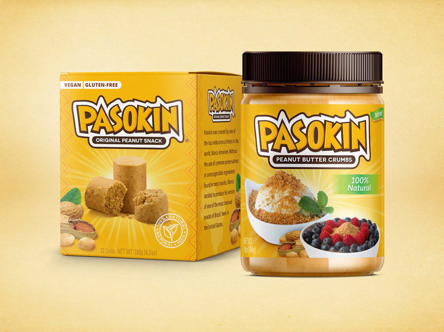 Pasokin Dessert package design