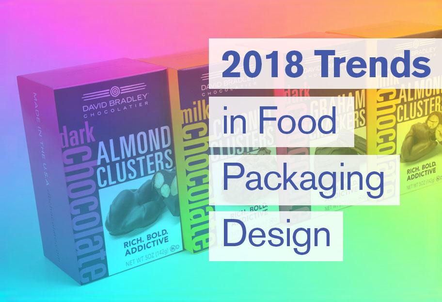 2018 Trends in Food Packaging Label Designs