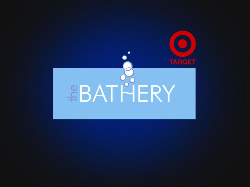 Bathery logo design