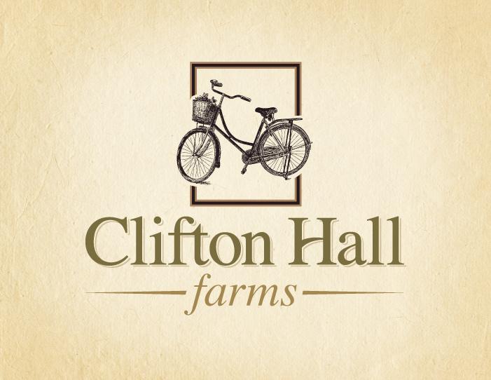 Clifton Hall Farms logo design