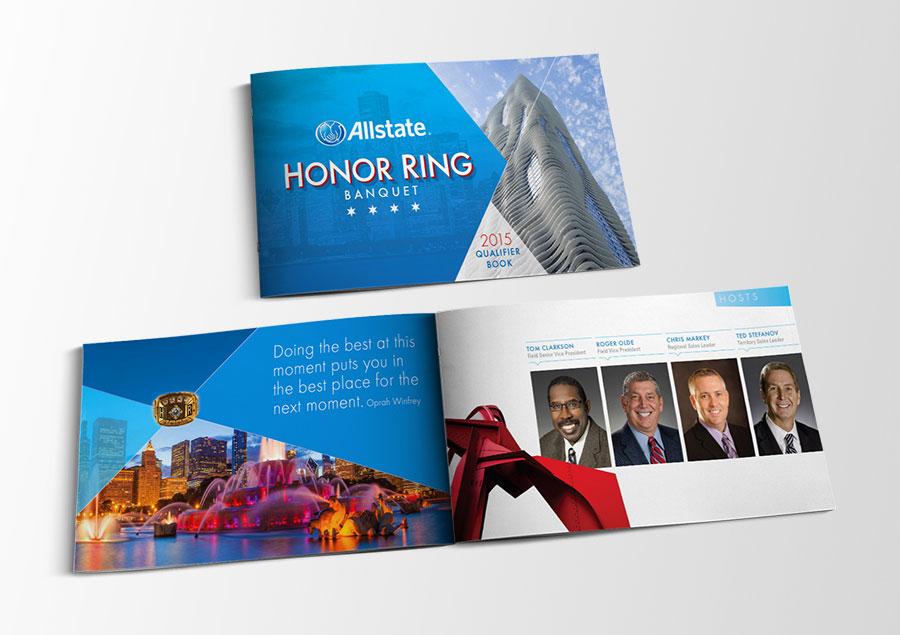 Allstate Insurance company brochure