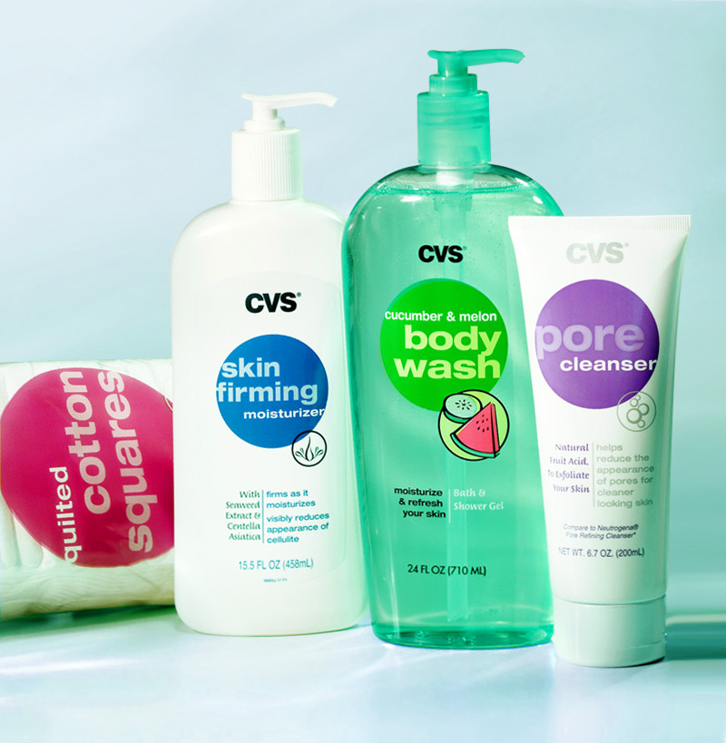 CVS otc bottle designs