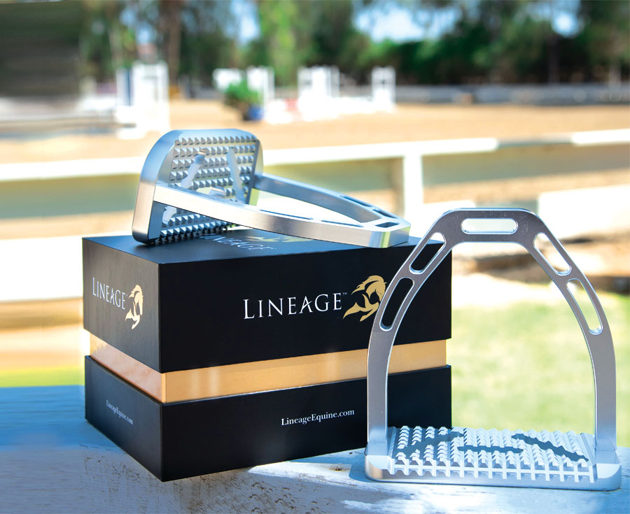 Lineage Equine package design