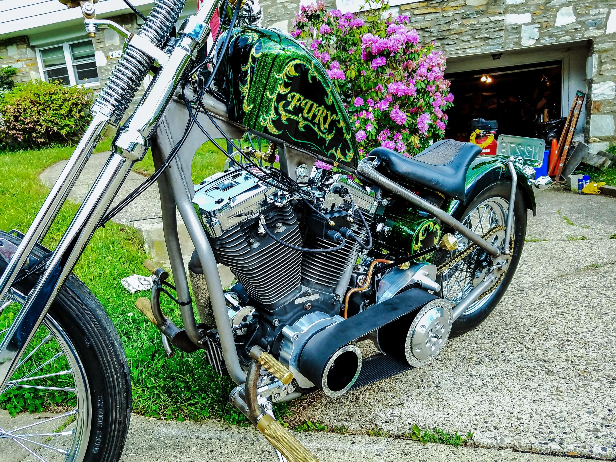 A Customer's bike with our jockey shift knob