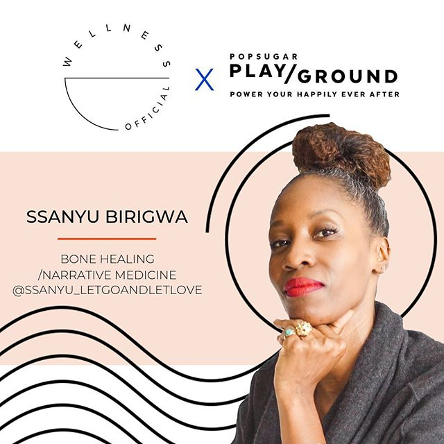 I'm so excited to partner with my friends at @wellnessofficial host of the healing sessions at the #POPSUGARplayground Samsung Soul Space all weekend long (6/22-6/23)✨Founded by energy healer and Play/Ground presenter @millanasnow, #WellnessOfficial.co is an online marketplace that connects wellness practitioners and clients to make wellness accessible to everyone.  _ I will be leading Bone Healing & Narrative Medicine sessions focused on the  Pause3™ method, a new ethnology, a one-of-a-kind integrative approach addressing the narrative health of individuals moving towards a new authentic, mindful and empowering mindset. Combining the clinical practice of Narrative Medicine, Ugandan ancestral medicine of Bone Healing, sacred knowledge, and Reiki shamanism, we begin the practice  in changing deep-seeded belief systems in the DNA so to unlock the blocks that keep us from living in mind, body, and spirit harmony and alignment so to heal. The tools we experience and learn to harness helps to reveal, embody our true nature.  _ You can book group or private mini sessions with me and some other amazing NY-based wellness practitioners, healers, and experts to stay powered up during @POPSUGARPlayground! See you there!? _ #letgoandletlove #harmonize #healyourself  #wellnessofficial #POPSUGARplayground