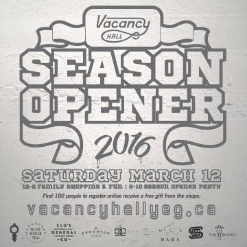 Vacancy Season Opener