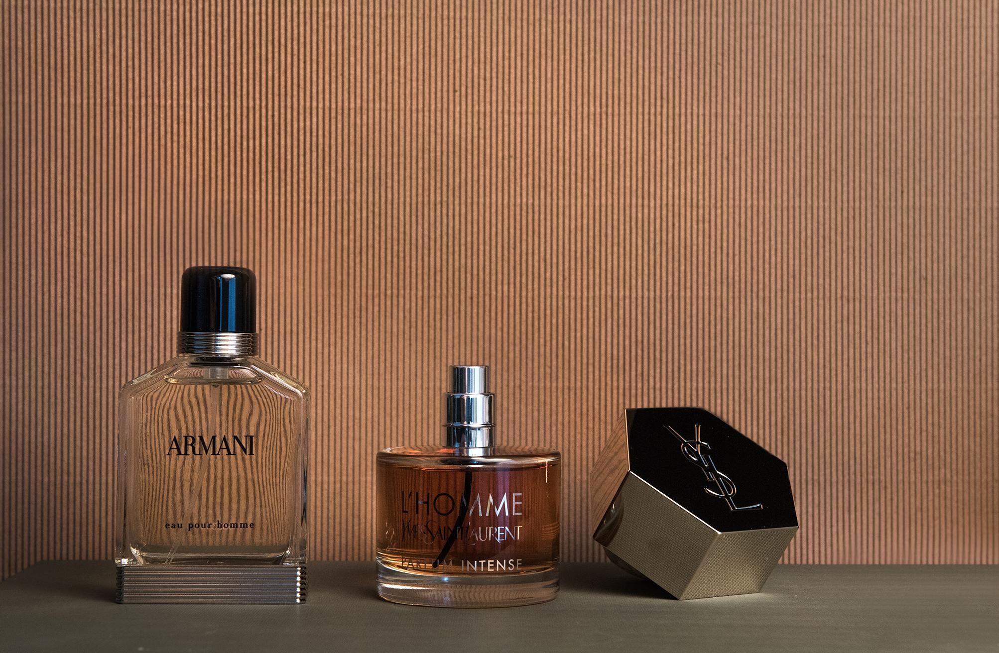 Armani Eau Pour Homme – Giorgio Armani og L'HOMME – Yves Saint Laurent