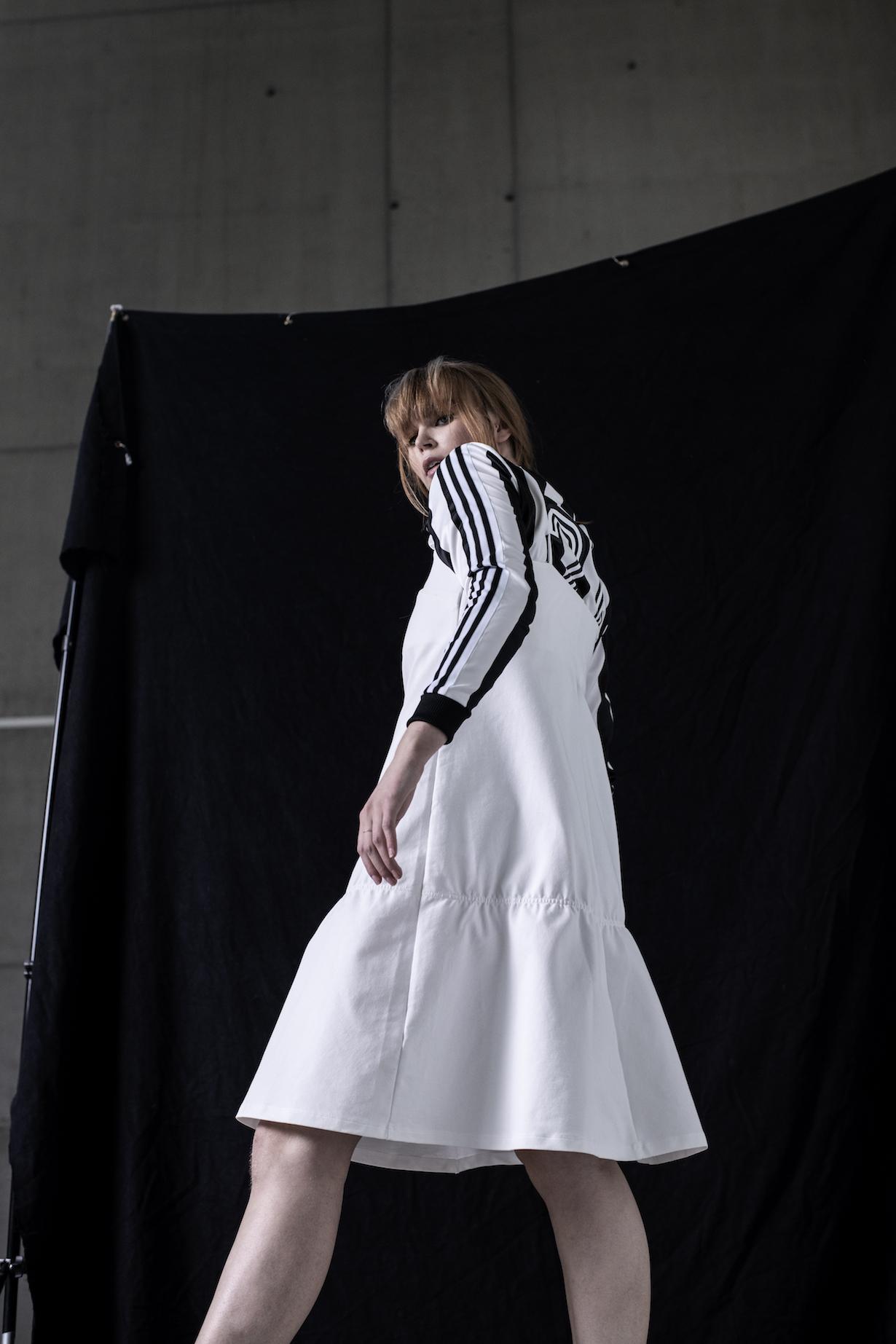 A: Topp: Adidas Originals Kjole: H&M