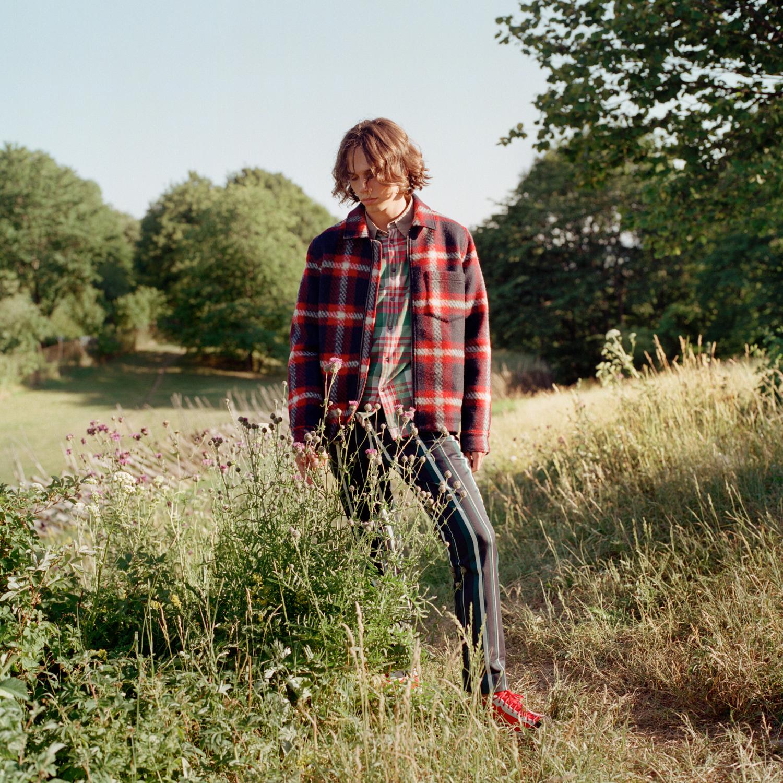 Jakke: Samsøe Samsøe Skjorte: Marni /MA Men's Vintage Depot Bukse: H&M Sko: Diemme