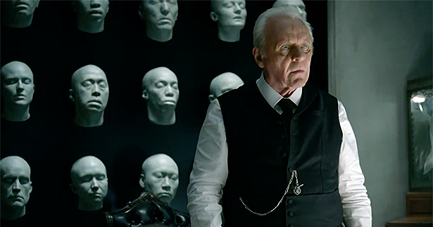 Film actors like Anthony Hopkins are happy on Television in this brave new world