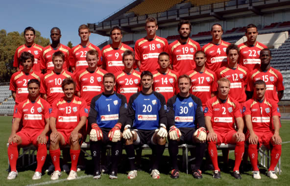 The 2008 Adelaide United ACL Squad