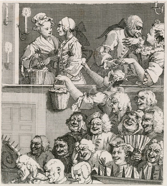 The Laughing Audience William Hogarth