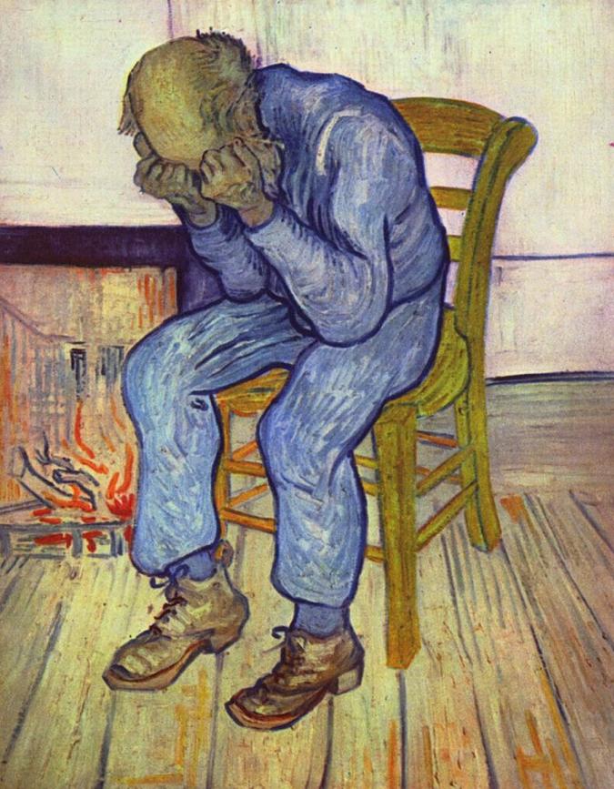 Vincent Van Gogh, Old Man In Sorrow