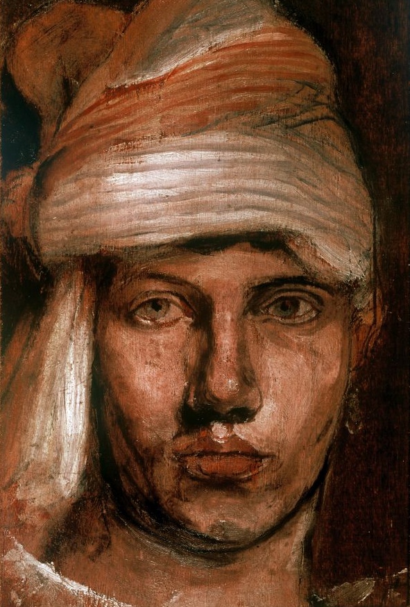 Self Portrait in a Turban, Duncan Grant  1961 Estate of Duncan Grant courtesy Henrietta Garnett