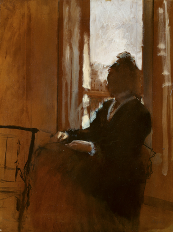 Edgar Degas Woman at a Window