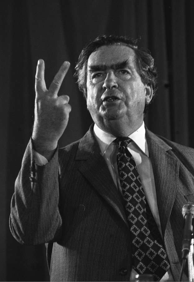 Denis Healey. Photograph: PA/Empics