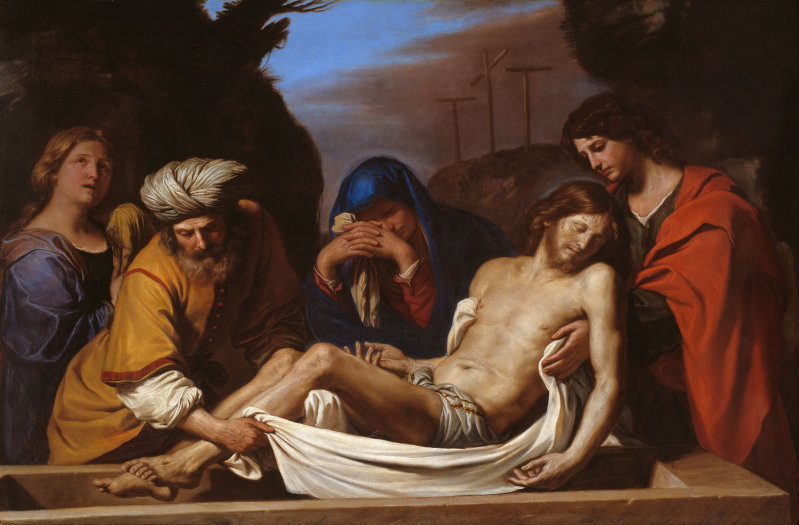 Guercino The Entombment, c. 1656
