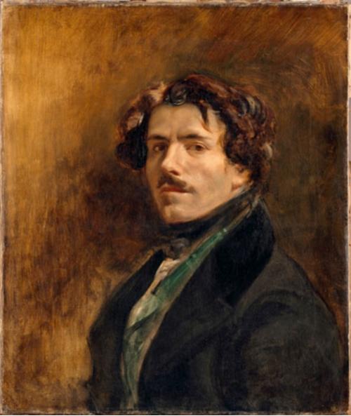 Delacroix Self Portrait 1837
