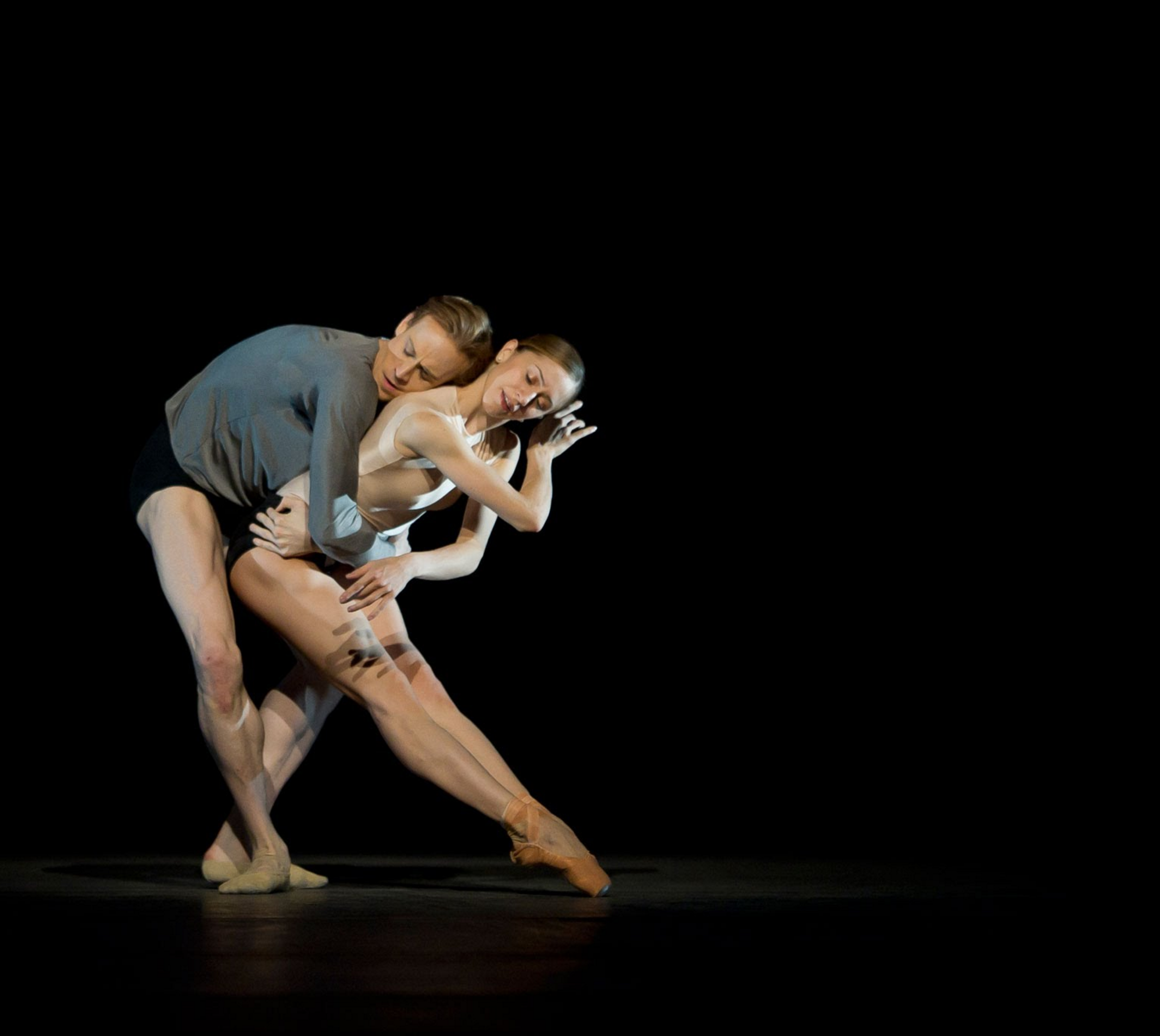 Edward Watson and Mariela Nunez in Infra by Wayne McGregor